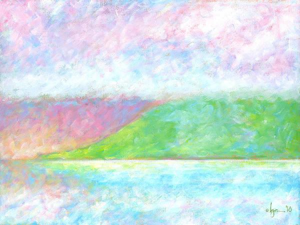 Painting - Haleakala Dawn by Angela Treat Lyon