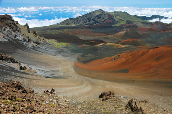 Haleakala Crater Photograph - Haleakala Grandeur by Stephen  Vecchiotti