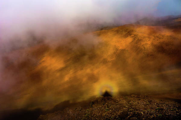 Photograph - Haleakala Halo by M G Whittingham