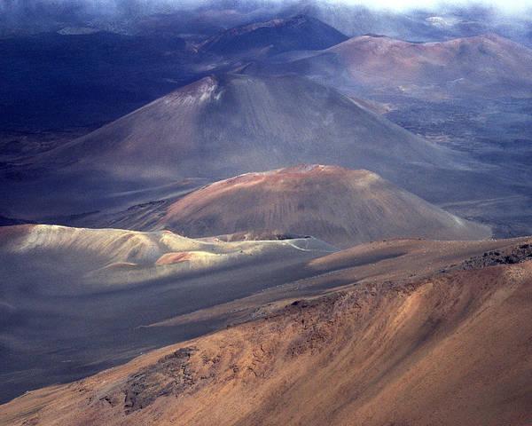 Photograph - Haleakala, Maui I by Kenneth Campbell