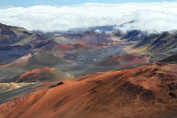 Haleakala Crater Photograph - Haleakala National Park Maui by Pierre Leclerc Photography
