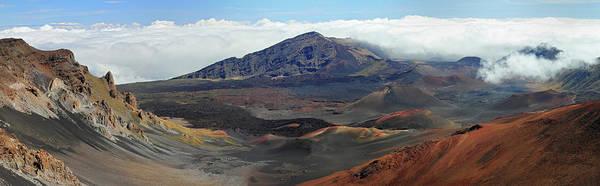 Haleakala Crater Photograph - Haleakala Panorama by Pierre Leclerc Photography