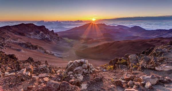 Photograph - Haleakala Sunrise  by Pierre Leclerc Photography