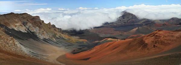 Haleakala Crater Photograph - Haleakala Volcano Landscape by Pierre Leclerc Photography