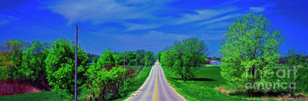 Photograph - Halegus Rd And Balard Country Roads Mchenry County  by Tom Jelen