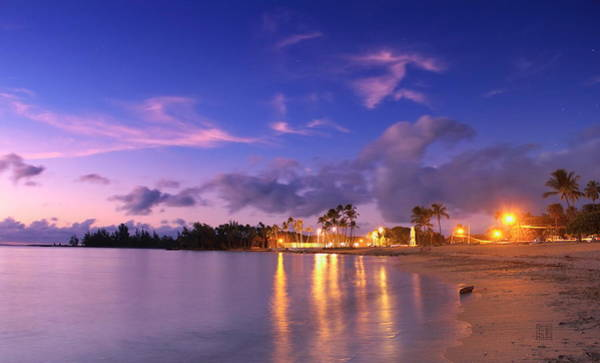 Photograph - Hale'iwa Evening by Geoffrey Lewis