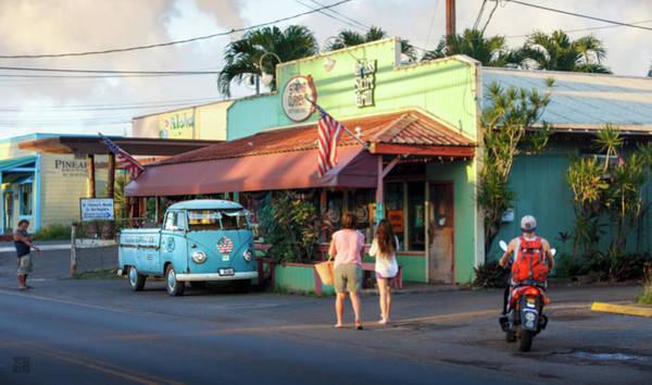 Photograph - Hale'iwa Shops by Geoffrey Lewis