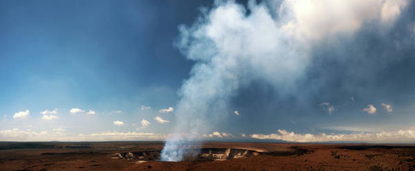Vent Photograph - Halemaumau Crater 2016 by Christopher Johnson