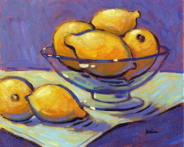 Painting - Half A Dozen by Konnie Kim