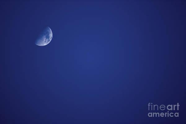 Nightime Photograph - Half Blue Moon by Jorgo Photography - Wall Art Gallery
