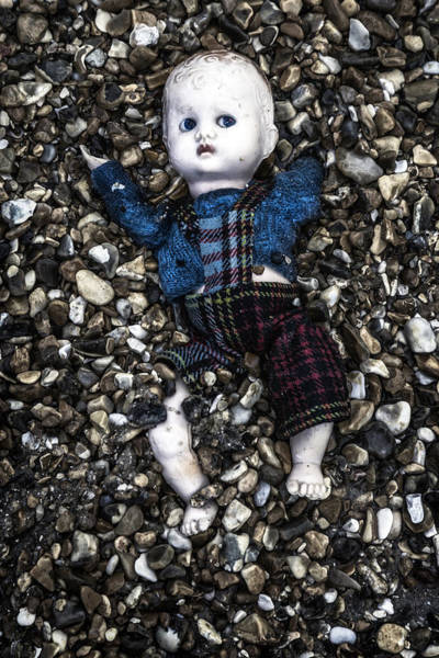 Wall Art - Photograph - Half Buried Doll by Joana Kruse