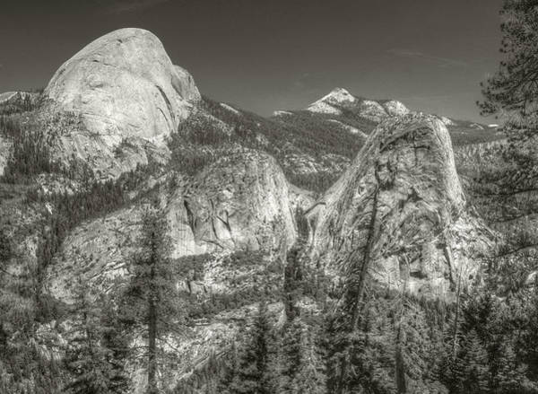 Photograph - Half Dome And Liberty Cap by Michael Kirk