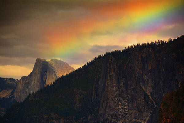 Photograph - Half Dome As Pot Of Gold by Raymond Salani III