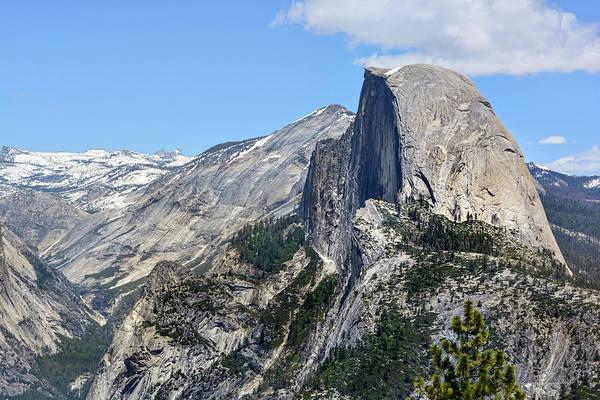 Photograph - Half Dome At Glacier Point, Yosemite by Brian Tada