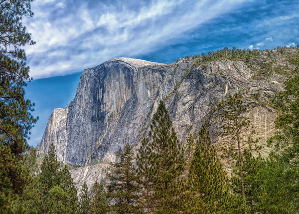 Photograph - Half Dome Dominion by John M Bailey