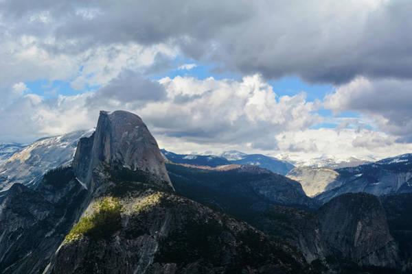 Photograph - Half Dome Glacier Point by Kyle Hanson