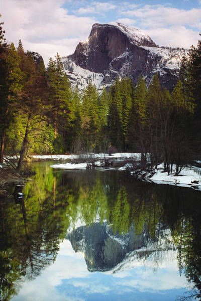 Habenero Photograph - Half Dome In Winter by Richard Henne
