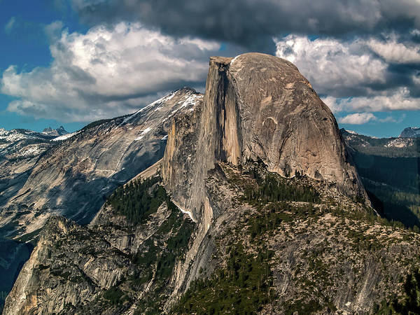 Photograph - Half Dome Landscape by Bill Gallagher