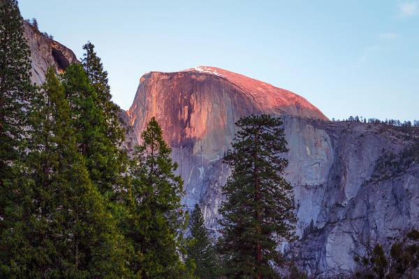 Photograph - Half Dome Sunset by Adam Rainoff