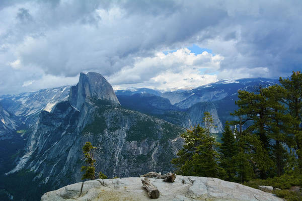 Photograph - Half Dome Yosemite Forest by Kyle Hanson