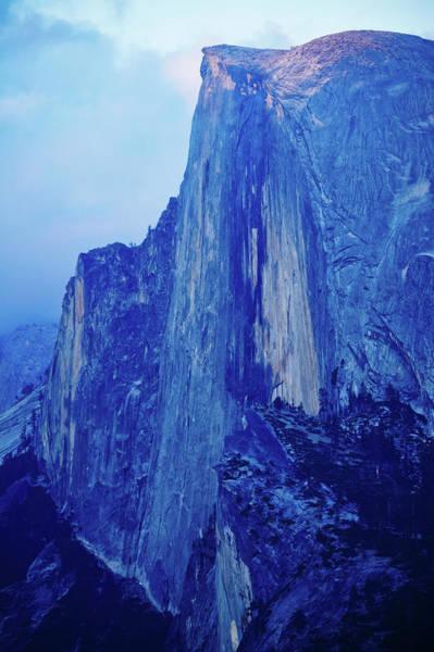 Photograph - Half Dome Yosemite Sunset Night by Kyle Hanson