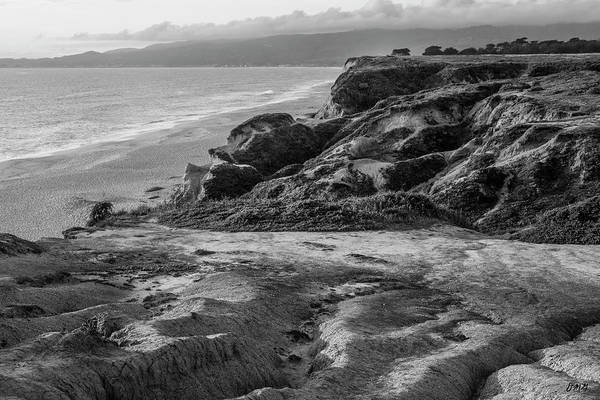 Photograph - Half Moon Bay IIi Bw by David Gordon