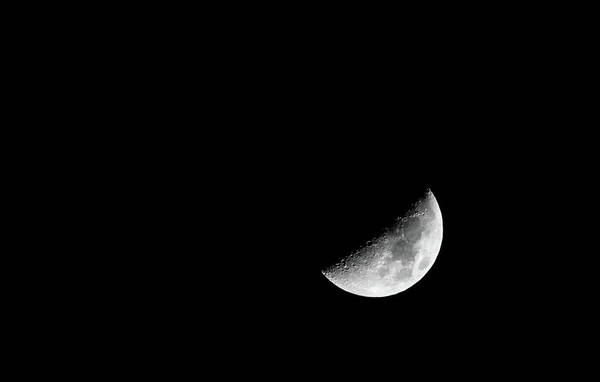 Photograph - Half Moon by T Brian Jones