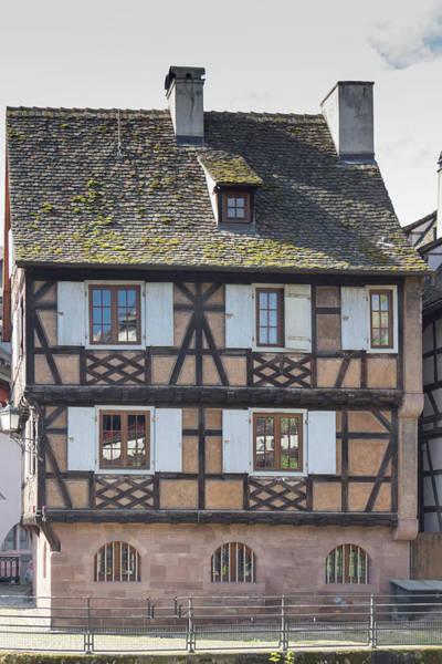River Ill Wall Art - Photograph - Half Timber House Strasbourg by Teresa Mucha