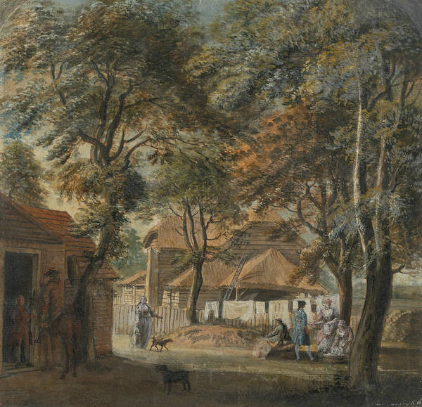 Painting - Halfway House, Sadler's Wells by Paul Sandby