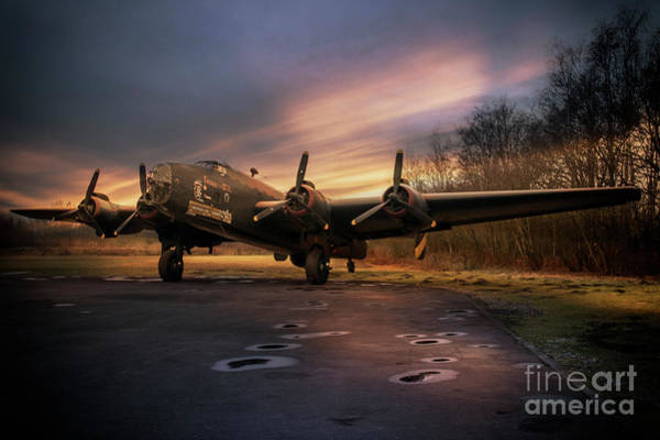 Wall Art - Digital Art - Halifax Bomber by J Biggadike