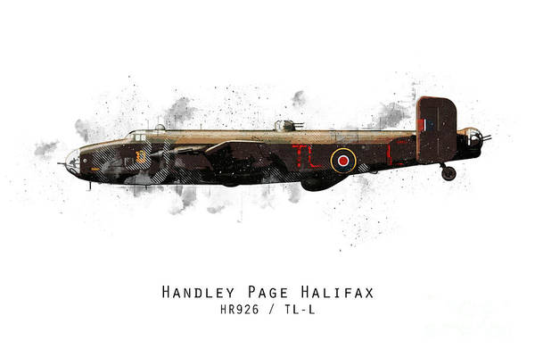 Halifax Wall Art - Digital Art - Halifax Sketch - Hr926 by J Biggadike
