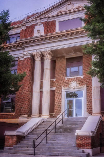 Photograph - Hall County Courthouse by Joan Carroll
