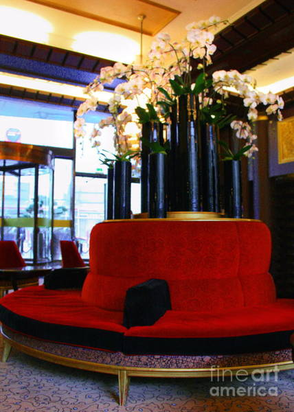 Photograph - Hall De L'hotel by Angela Rath