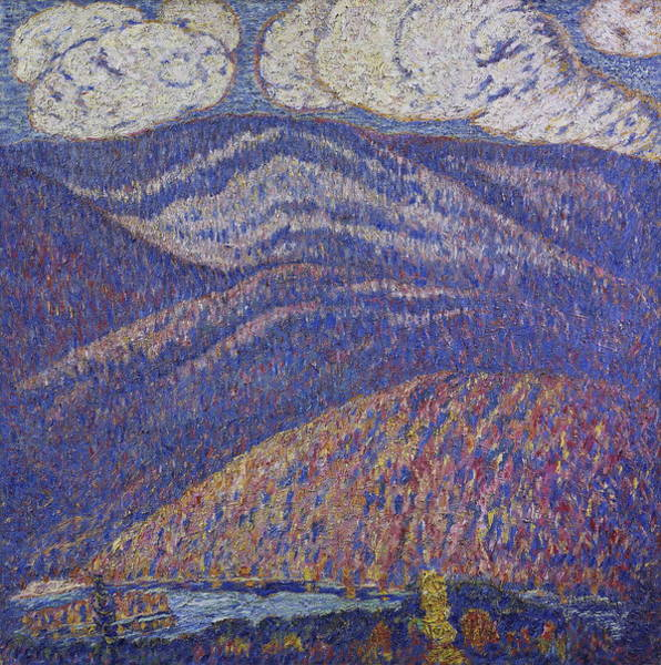 Wall Art - Painting - Hall Of The Mountain King by Marsden Hartley