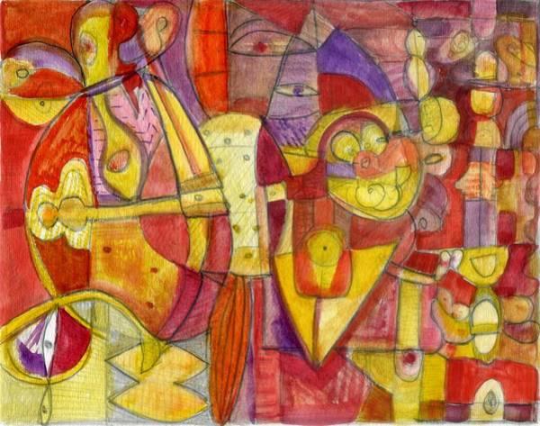 Painting - Hallelujah by Stephen Lucas