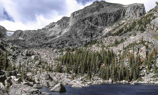 Photograph - Hallet Peak Rocky Mountain National Park by NaturesPix
