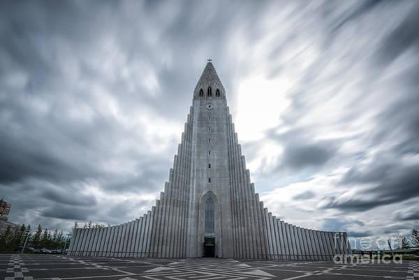 Reykjavik Photograph - Hallgrimskirkja  by Michael Ver Sprill