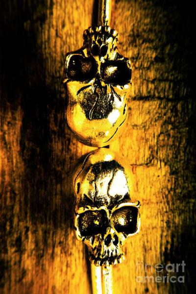 Scary Photograph - Halloween Bones by Jorgo Photography - Wall Art Gallery