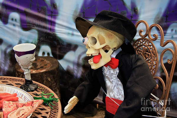 Photograph - Halloween Bridegroom by Jill Lang