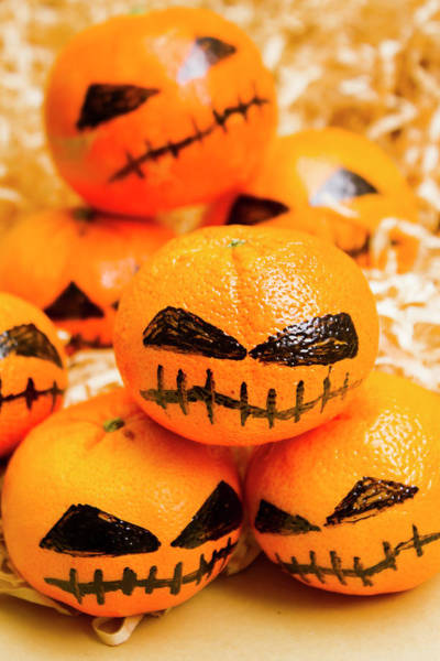 Wall Art - Photograph - Halloween Craft Treats by Jorgo Photography - Wall Art Gallery