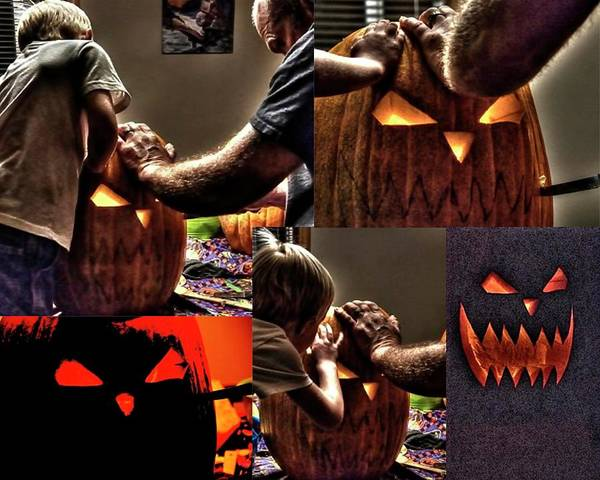Digital Art - Halloween by Jerry Sodorff