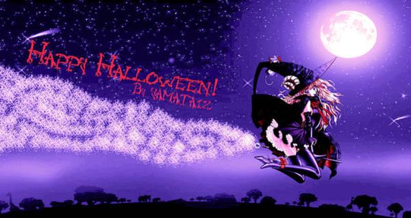 Digital Art - Halloween by Maye Loeser