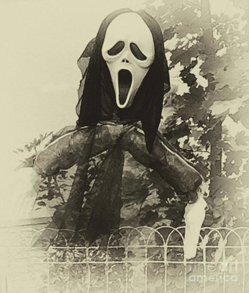 Halloween No 1 - The Scream  Art Print