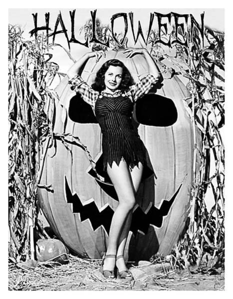 Wall Art - Photograph - Halloween Pose by Long Shot