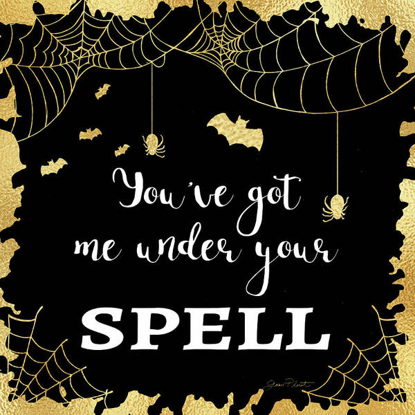 Wall Art - Digital Art - Halloween Sign 2 by Jean Plout