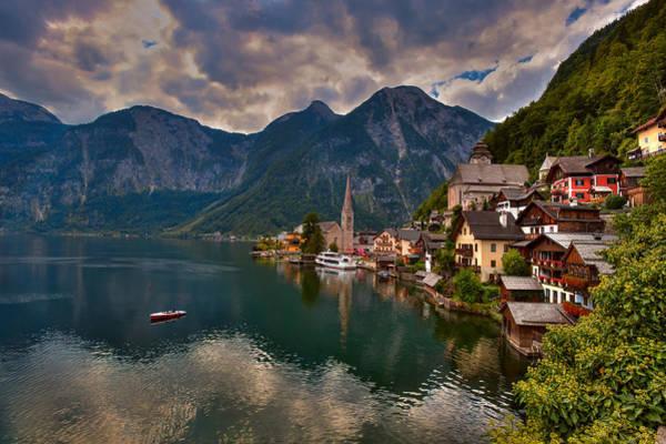 Photograph - Hallstatt, Austria by Brenda Jacobs