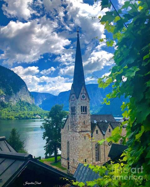 Photograph - Hallstatt Church by Jacqueline Faust