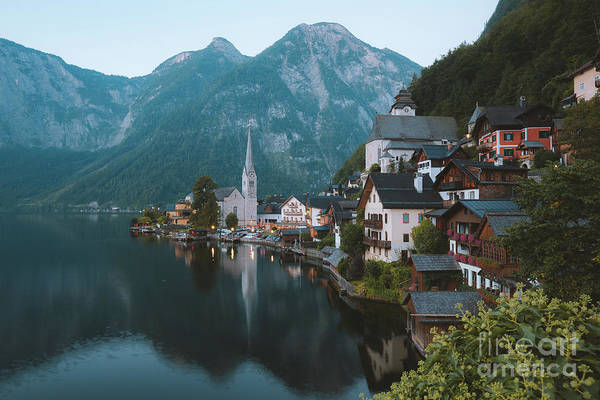 Wall Art - Photograph - Hallstatt Vintage by JR Photography