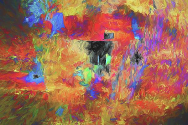 Digital Art - Hallucination 7976 by Matt Cegelis