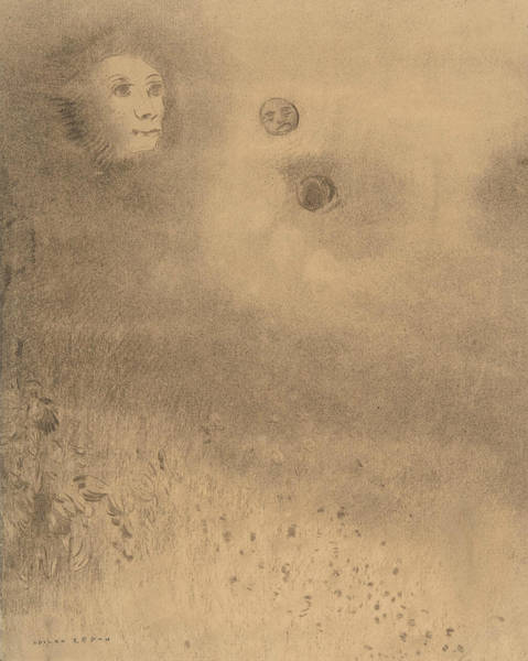Drawing - Hallucinations by Odilon Redon